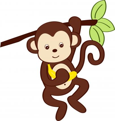 Cute Cartoon Monkey Pictures Clipartsco