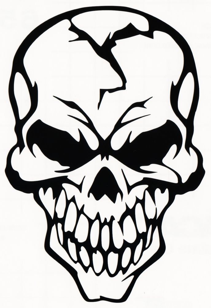 Skull Decal | eBay