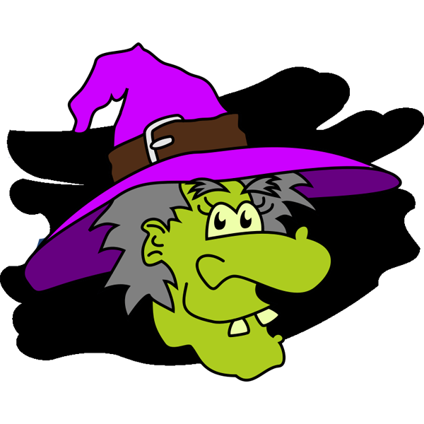 Pix For > Cute Witches Clipart