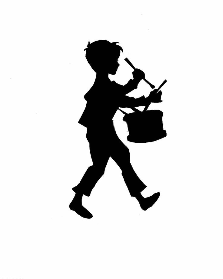little drummer boy silhouette | Little Drummer Boy Of Mine | Pinterest