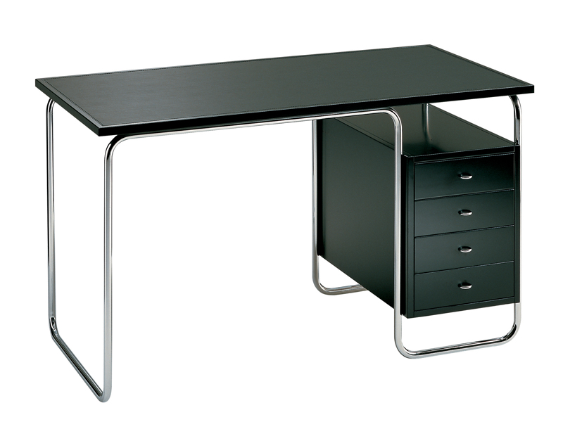 STAINLESS STEEL OFFICE DESK WITH DRAWERS COMACINA BY ZANOTTA ...