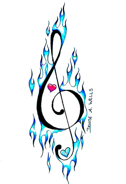 Eighth Note Tattoo Cliparts Co