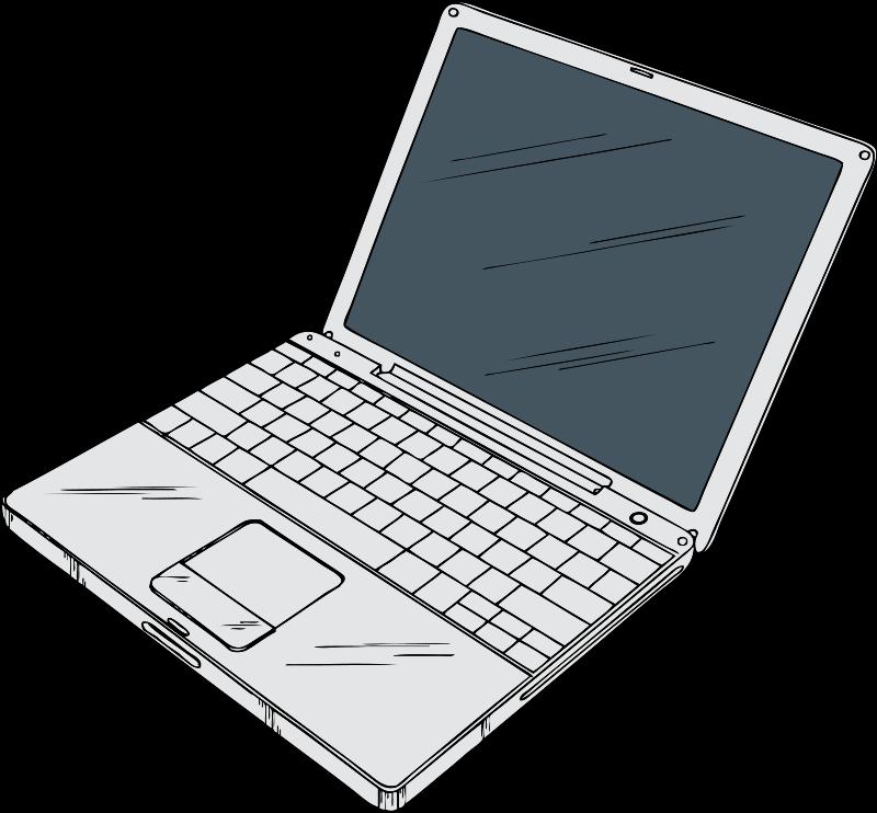 Laptop Clip - Cliparts.co