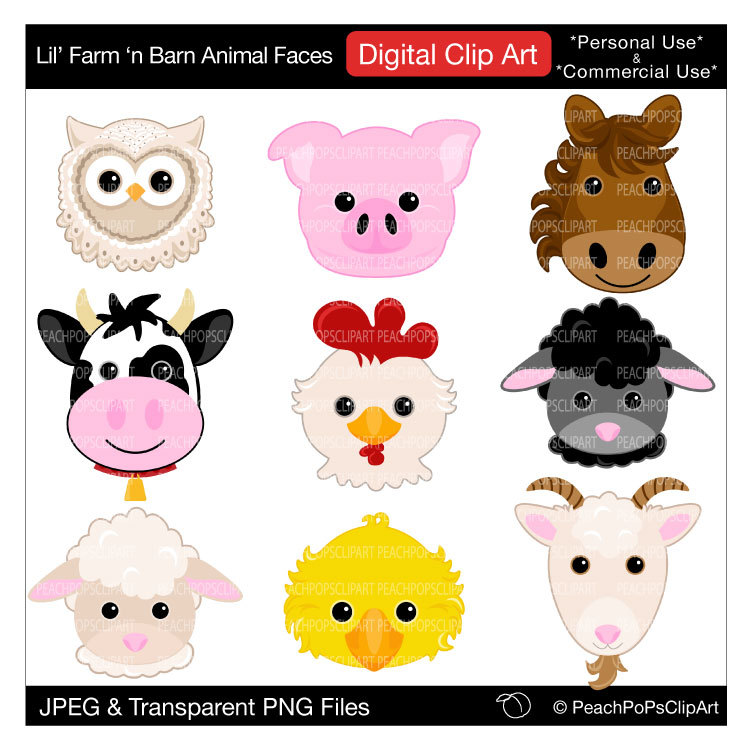 Cartoon Pictures Of Farm Animals - Cliparts.co
