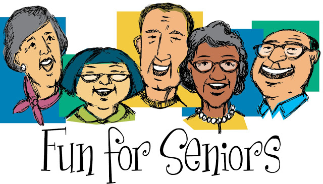 Pix For > Senior Citizens Clipart