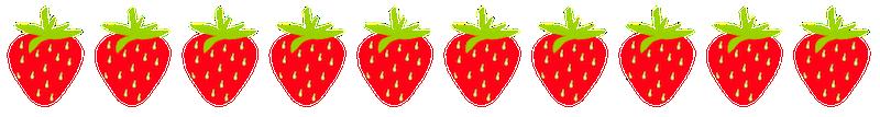 Strawberry Border Cliparts Co