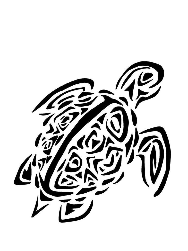 sea turtle outline cliparts co