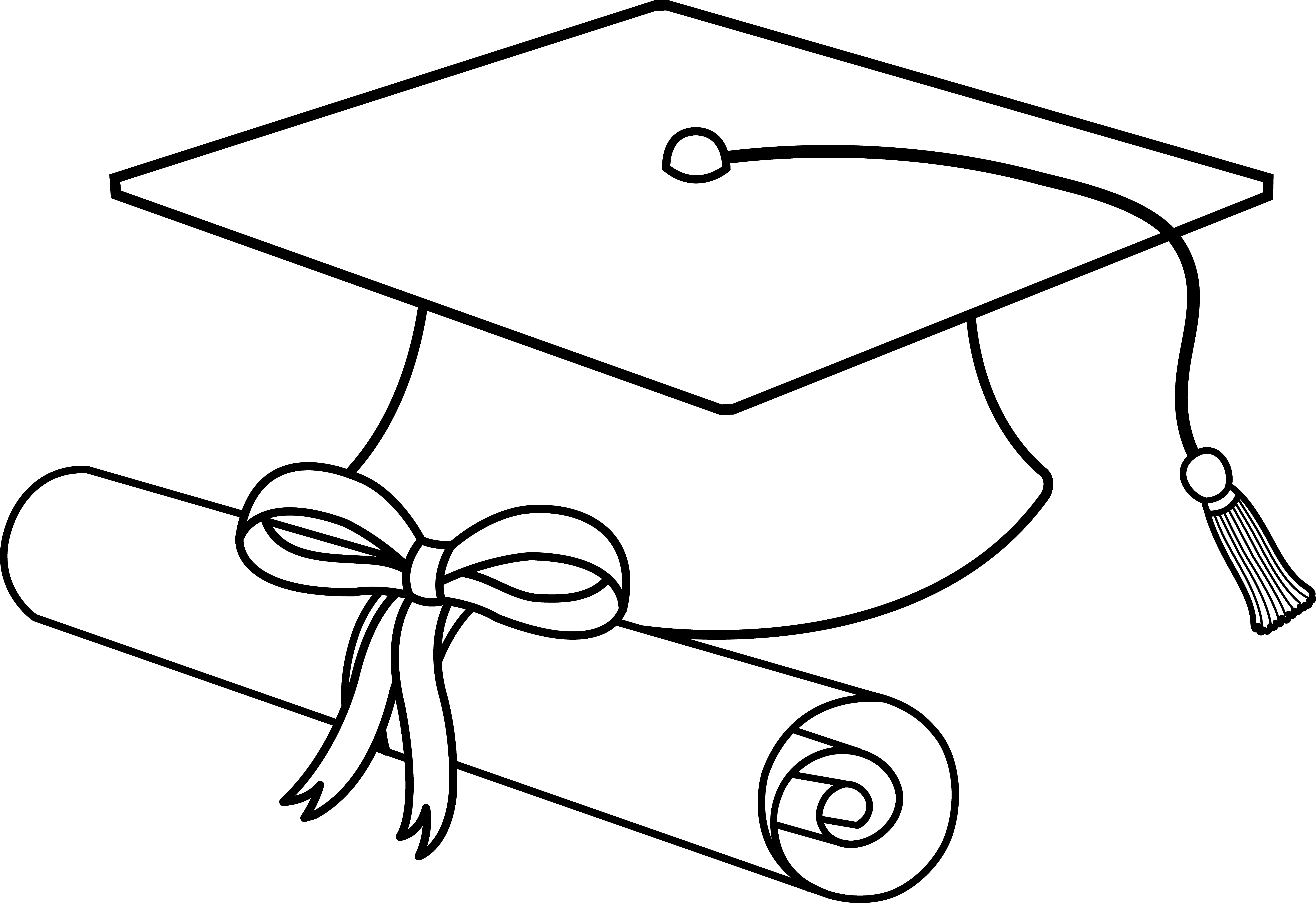 Cap And Gown Clipart Free - Cliparts.co