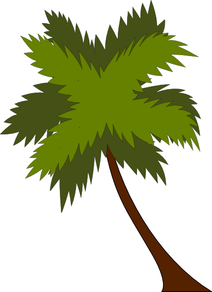 Cartoon Coconut Tree - Cliparts.co