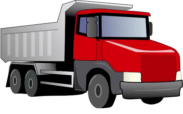 red dump truck clipart rh worldartsme com clipart trucks free download clipart trucks free download