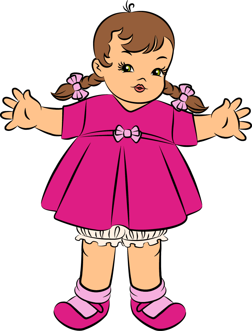 clipart of doll - photo #1