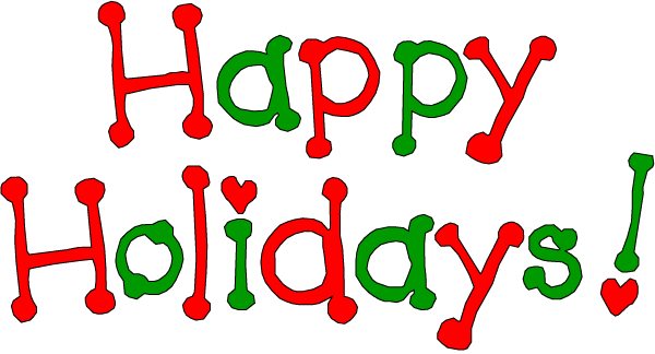 Happy Holidays Animated Clip Art