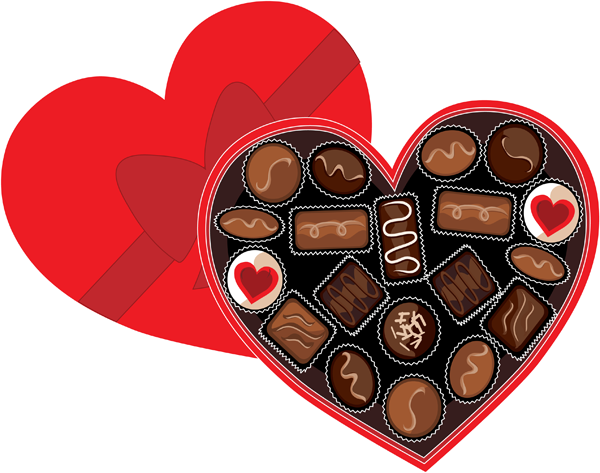 Chocolates Box Clipart | Valentine Images