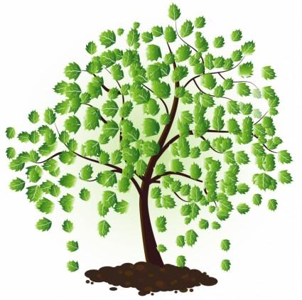 free vector tree clipartsco