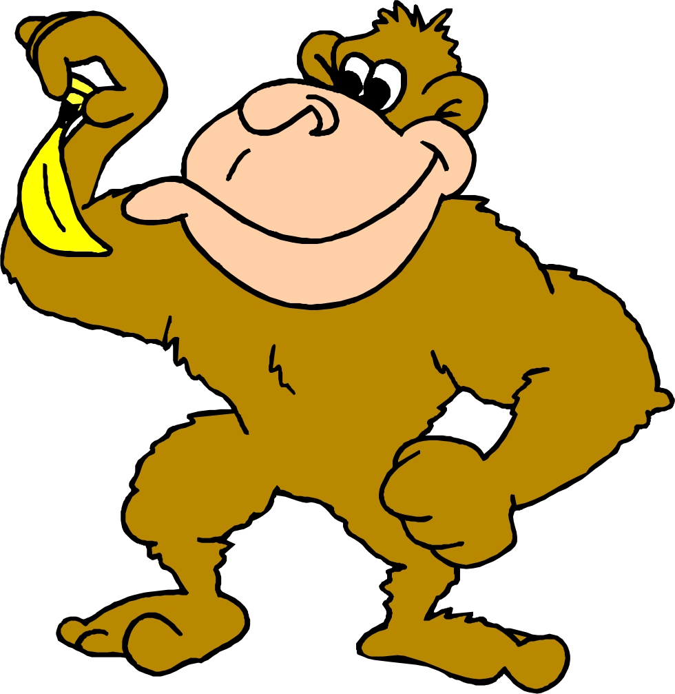 Picture Of Cartoon Monkeys - ClipArt Best