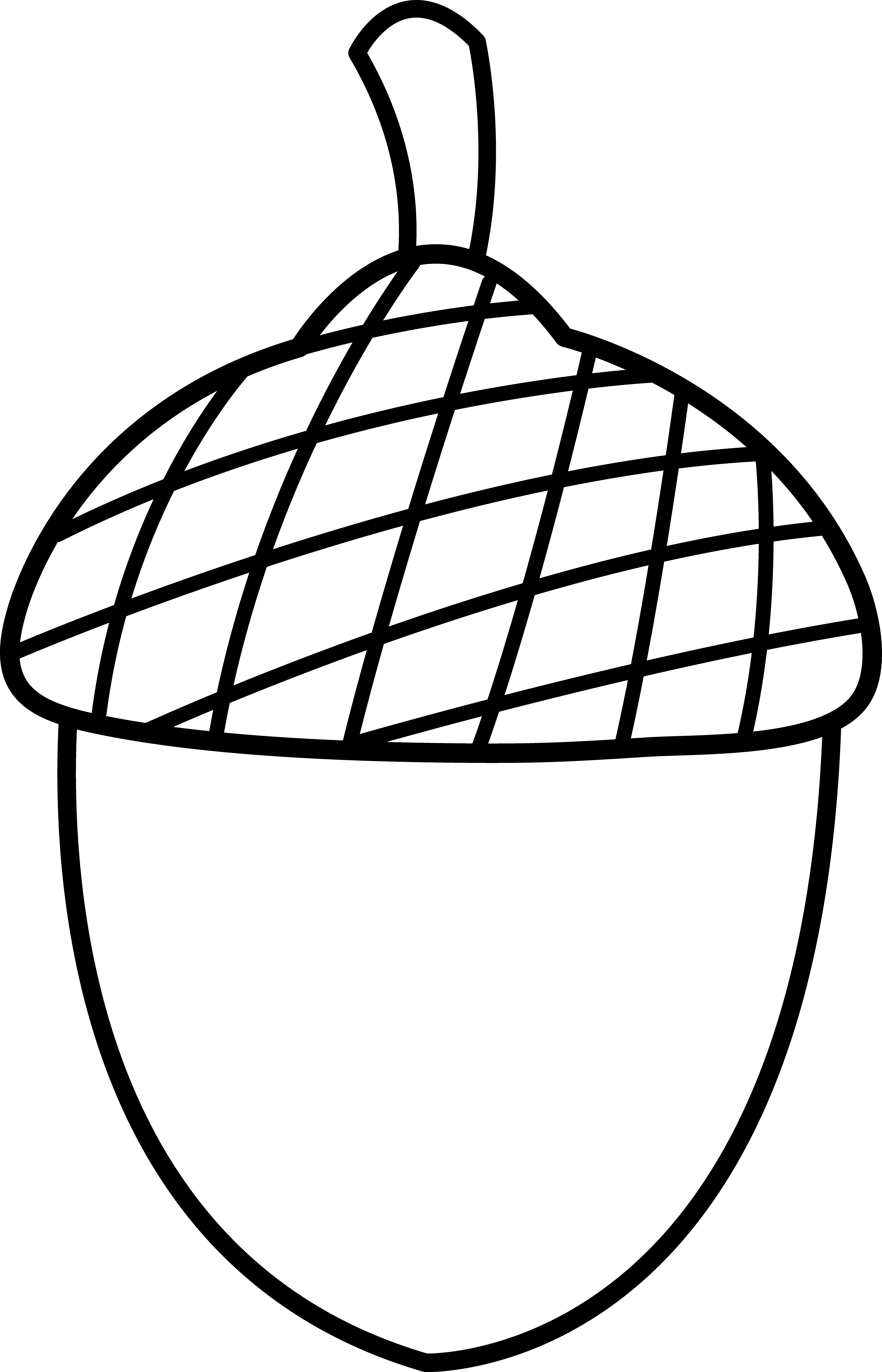 Acorn Clipart Black And White | Clipart Panda - Free Clipart Images