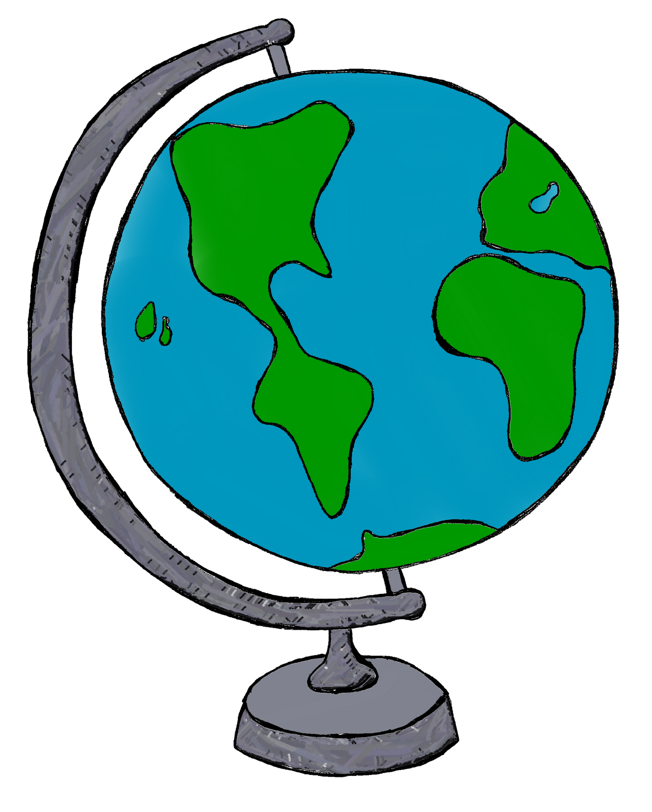 Earth Clipart Black And White | Clipart Panda - Free Clipart Images