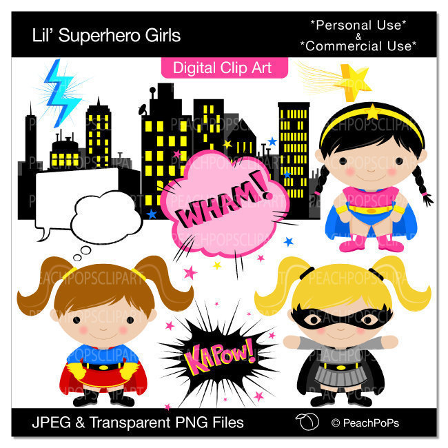 Pix For Kid Superhero Clipart Cliparts Co