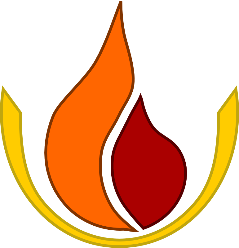 Clipart - Flame logo
