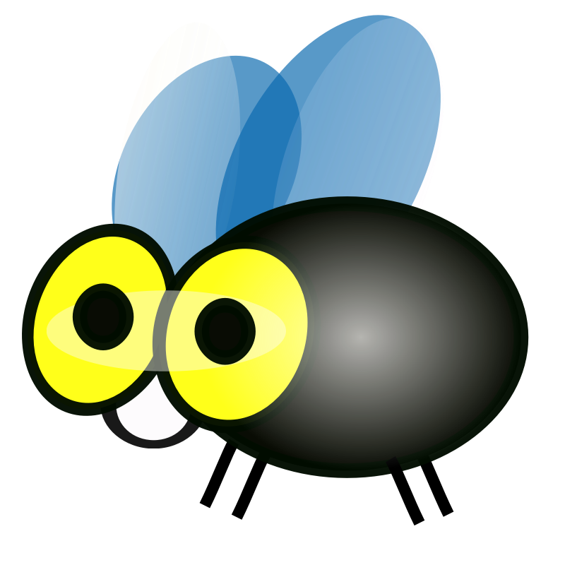 animated fly clipart - photo #38
