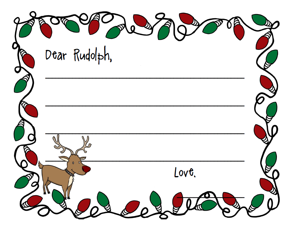 Rudolph Reindeer Pictures - Cliparts.co