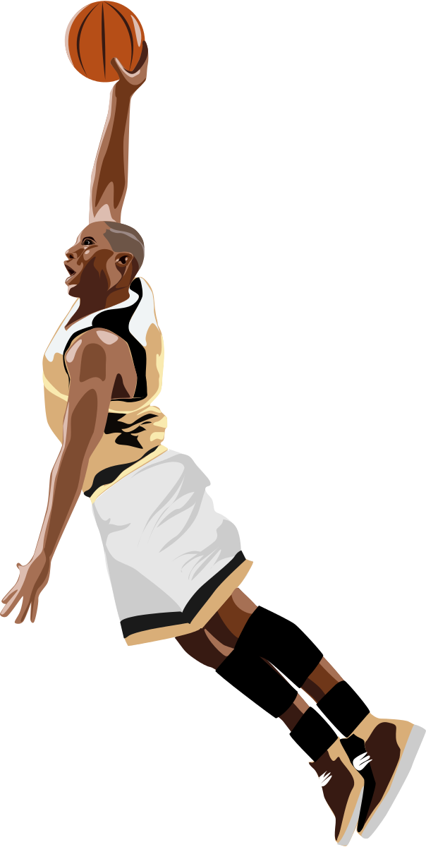 Basketball_slamdunk Clipart by ha1flosse : Sport Cliparts #19429 ...