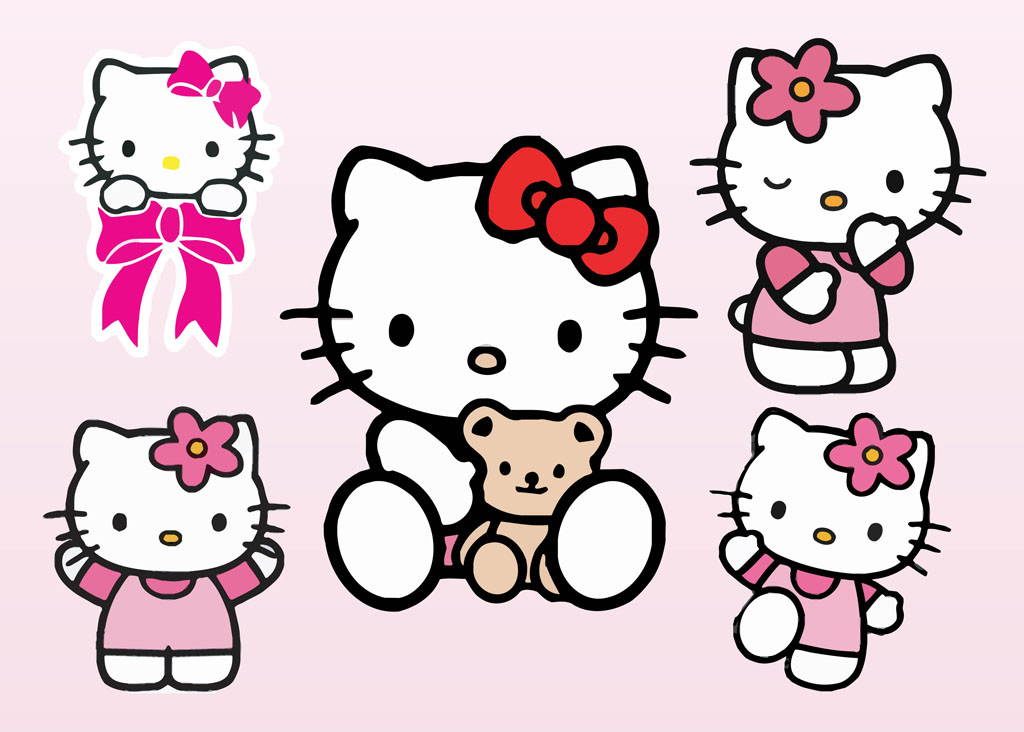 Hello Kitty Vectors