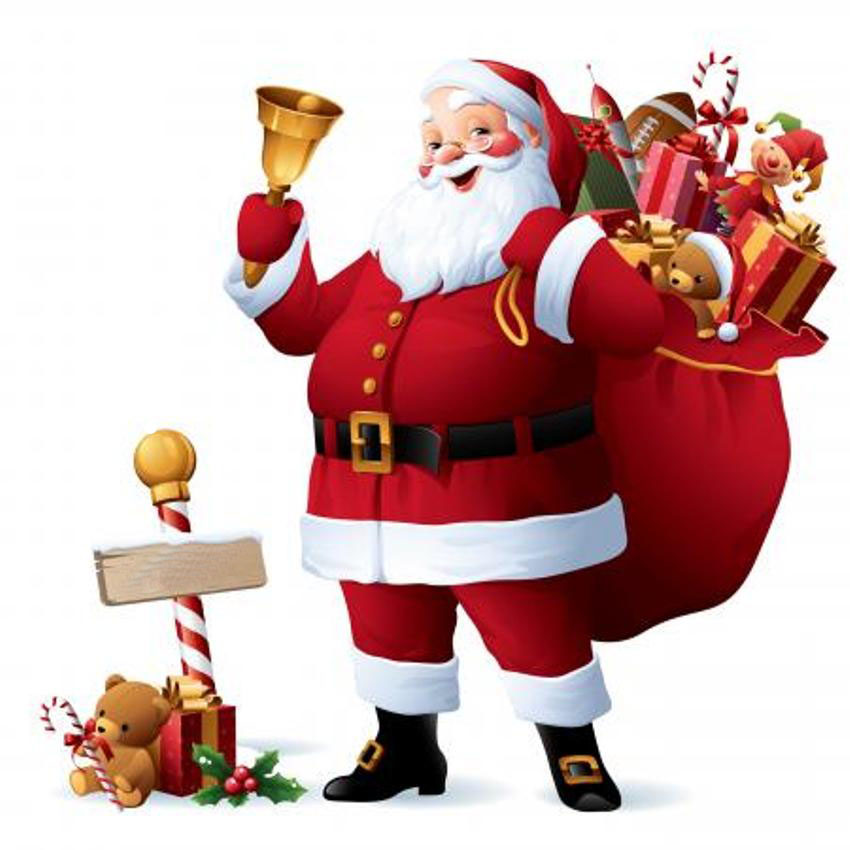 free clip art father christmas - photo #43