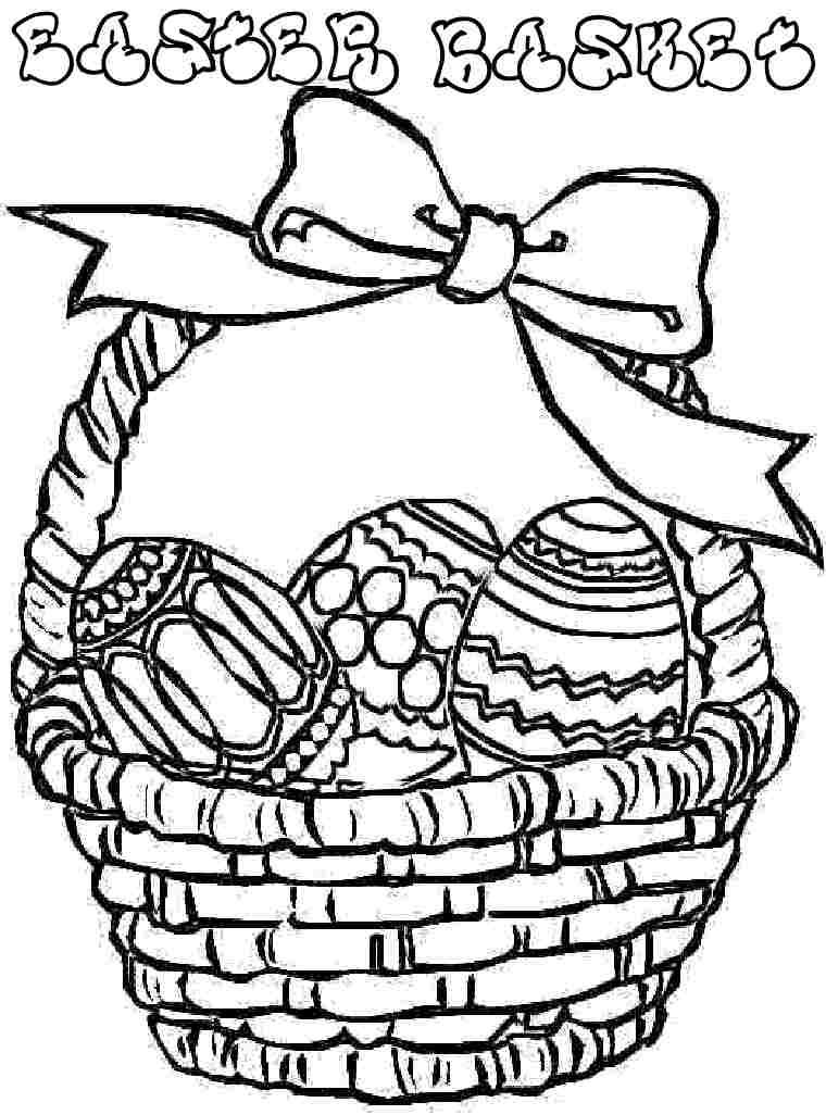 Easter Basket Pics - Cliparts.co