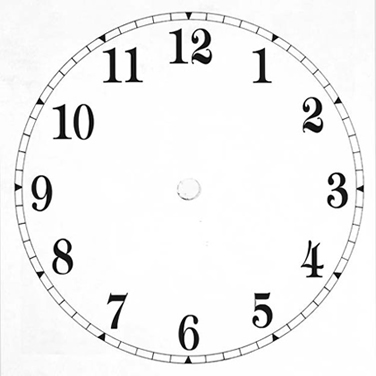 Clock Faces - Cliparts.co