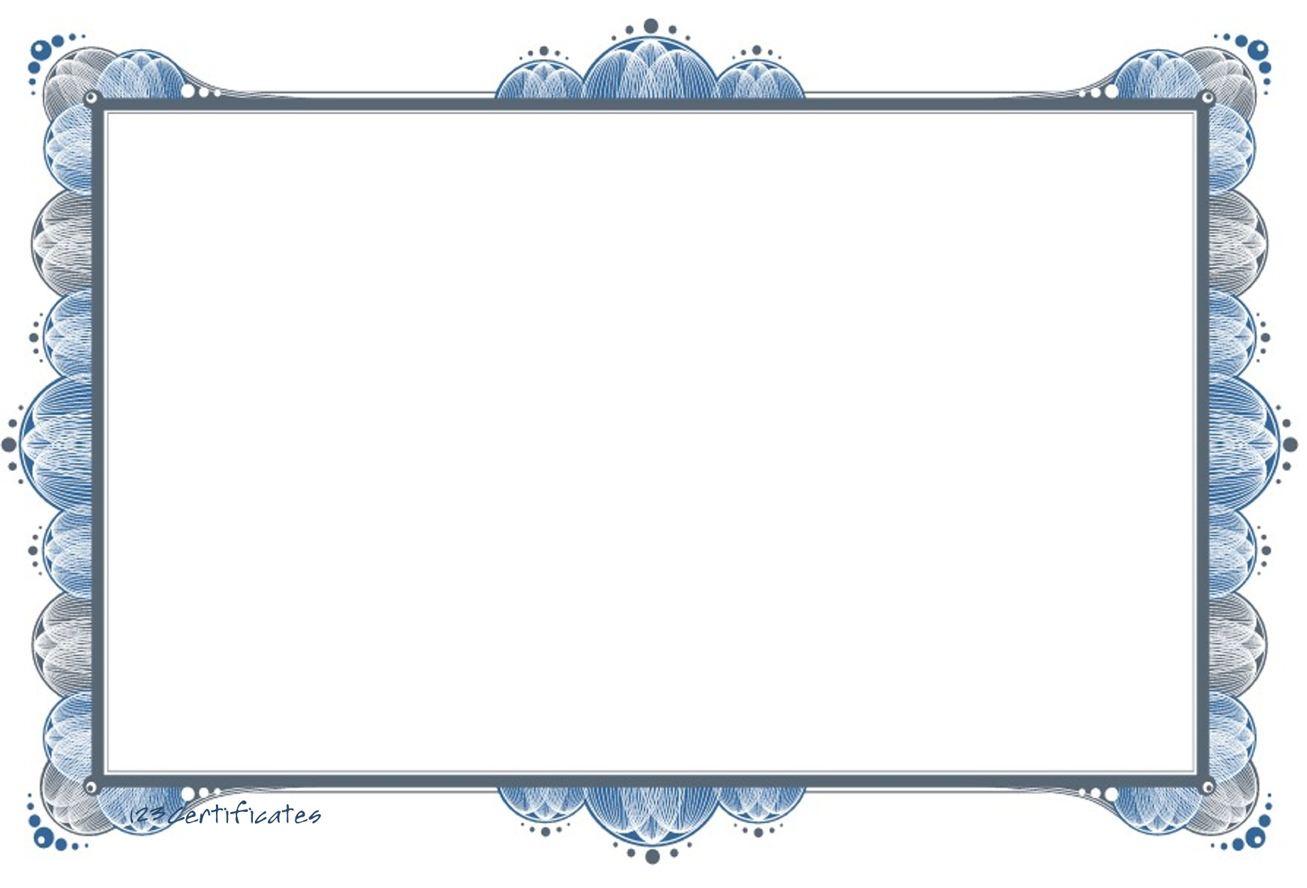Free certificate borders to download, certificate templates for ...
