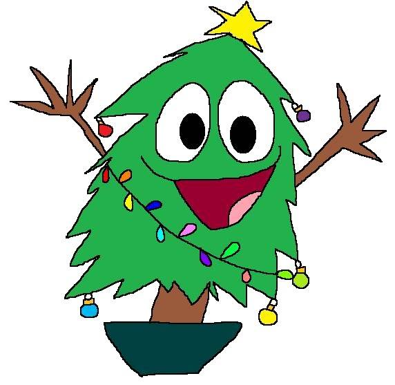 Funny Christmas Tree Cartoon Pictures Images Clipart Free Clip Cliparts Co