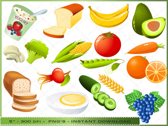 Healthy Foods For Kids Clipart - Cliparts.co