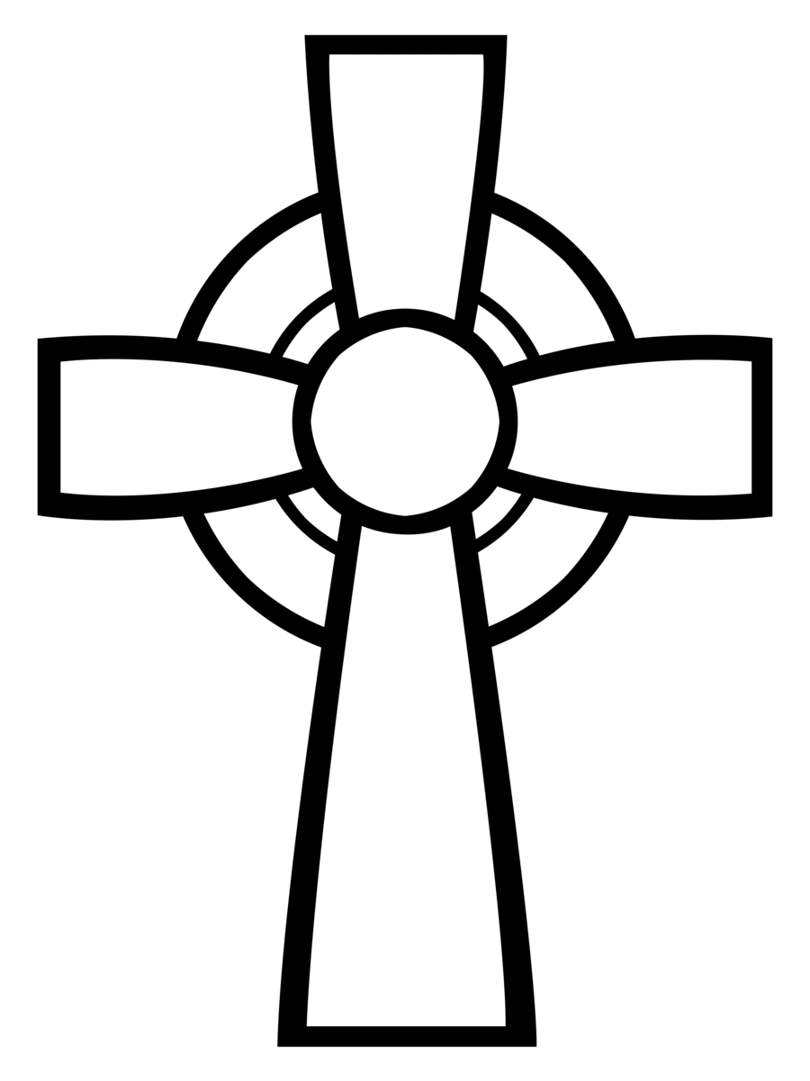 Simple Cross Line Art : Pretty cross pictures cliparts