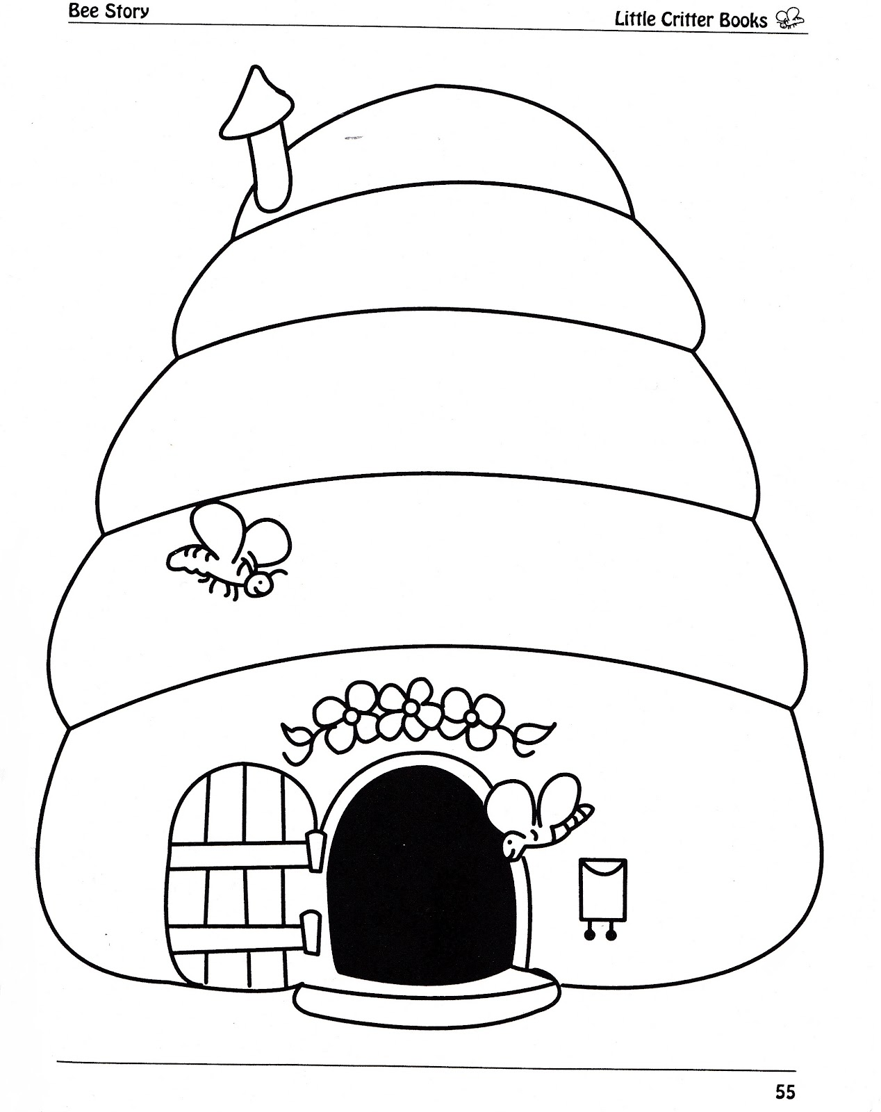 Bumble Bee Coloring Pages | Coloring Pages Gallery