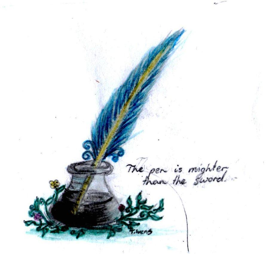 Quill And Ink - Cliparts.coQuill And Inkwell Image