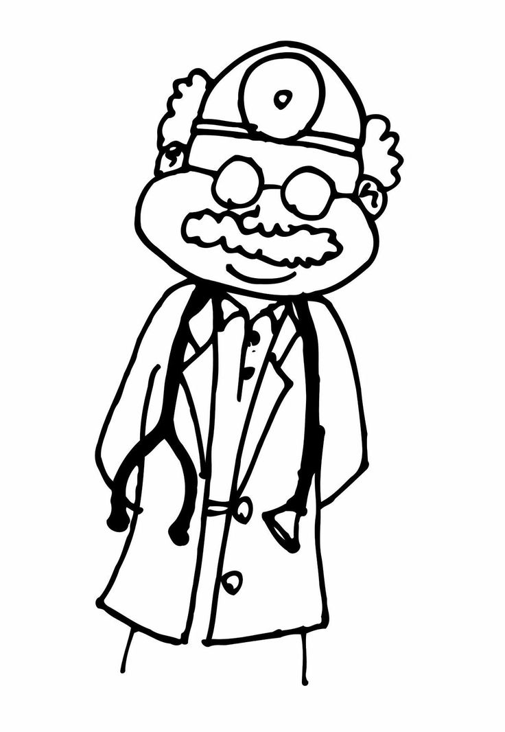 doctor coloring pages pinterest - photo#21