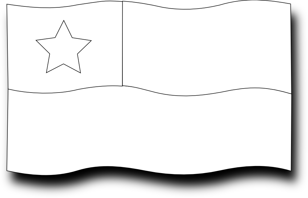 christian flag coloring page - christian flag clip art