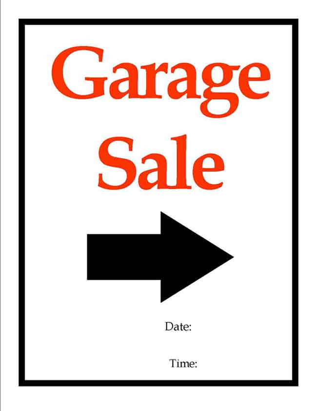 printable for sale sign car