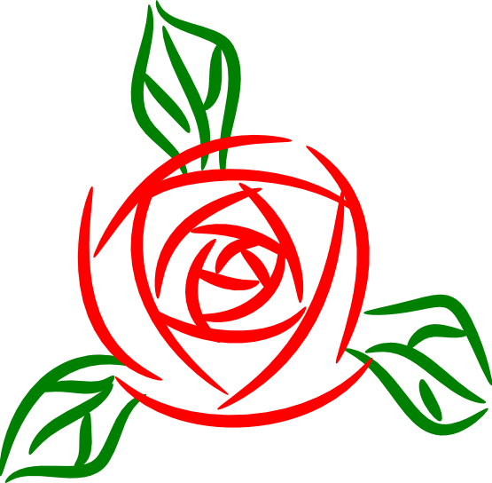 Red Rose Graphics - ClipArt Best