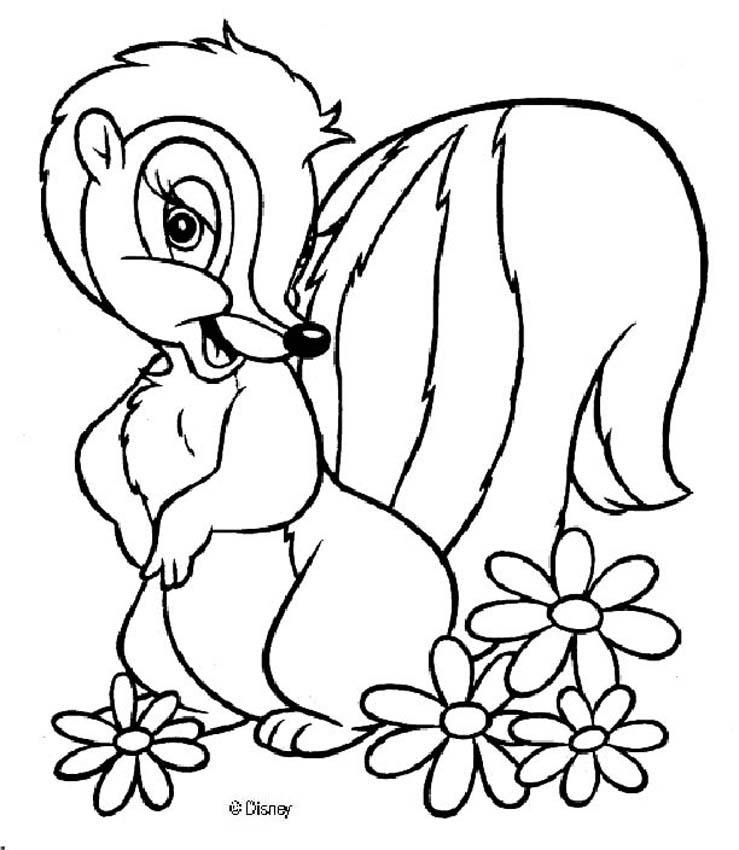 Bambi Coloring Pages Disney | Coloring Pages For Kids