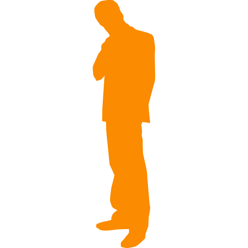 Clipart Man Thinking