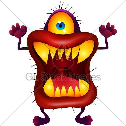 Cartoon Monster - Cliparts.co