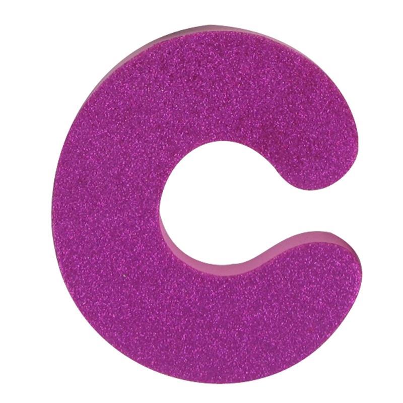 hobbycraft glitter foam letter c pink hobbycraft clipart best