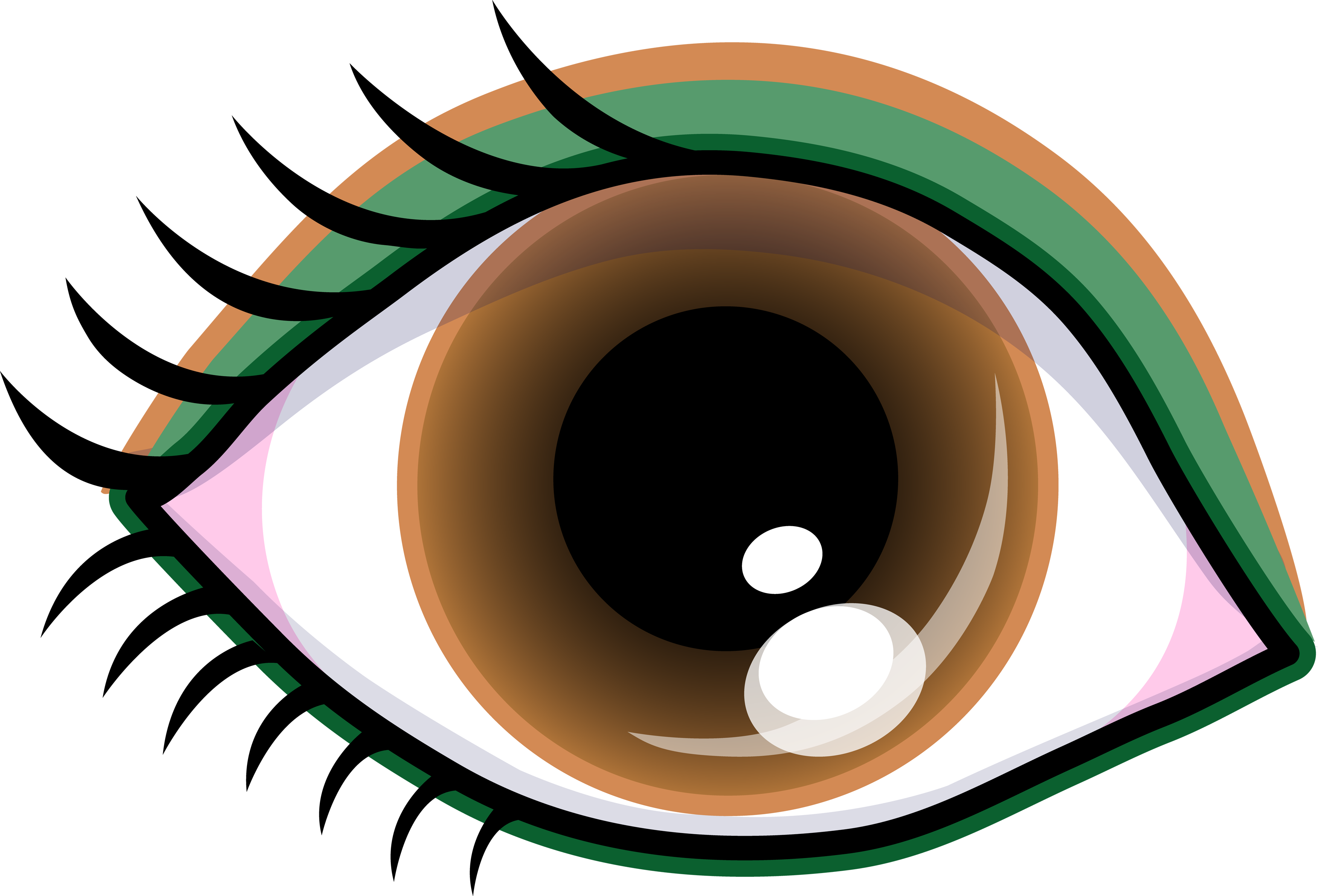 Brown Eyes Clipart - Cliparts.co