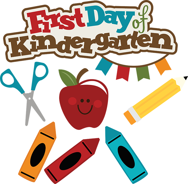 first day of kindergarten clipart rh worldartsme com kindergarten clip art for jobs kindergarten clip art black and white