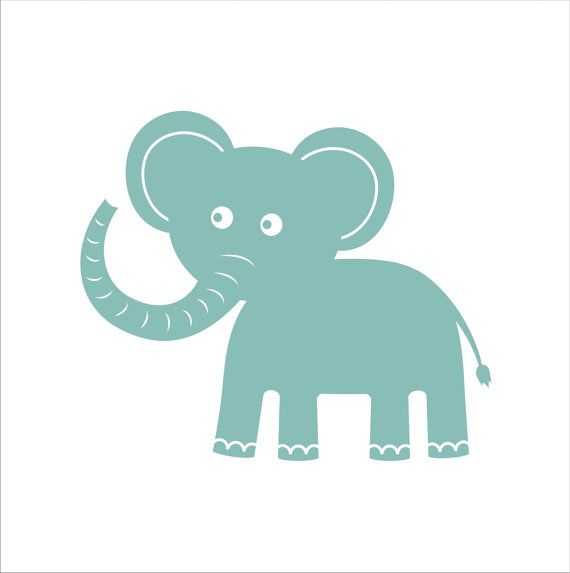 Elephant Stencils For Baby Room