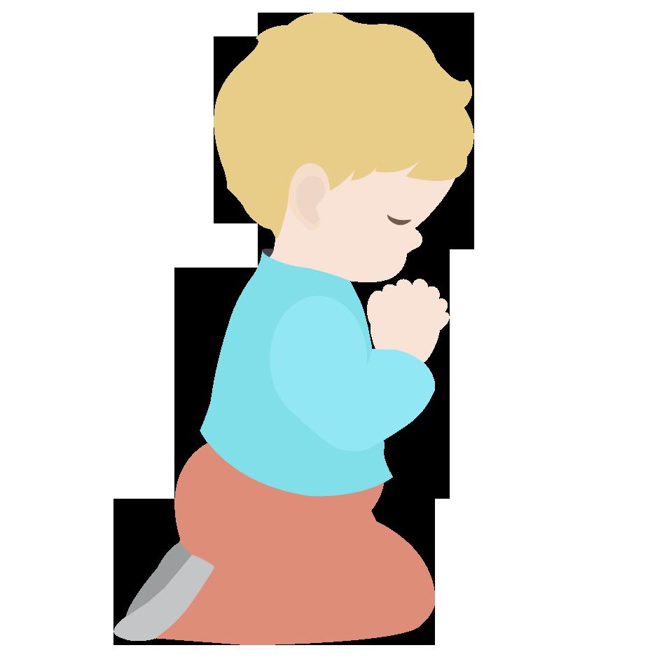 children praying clipart - photo #2