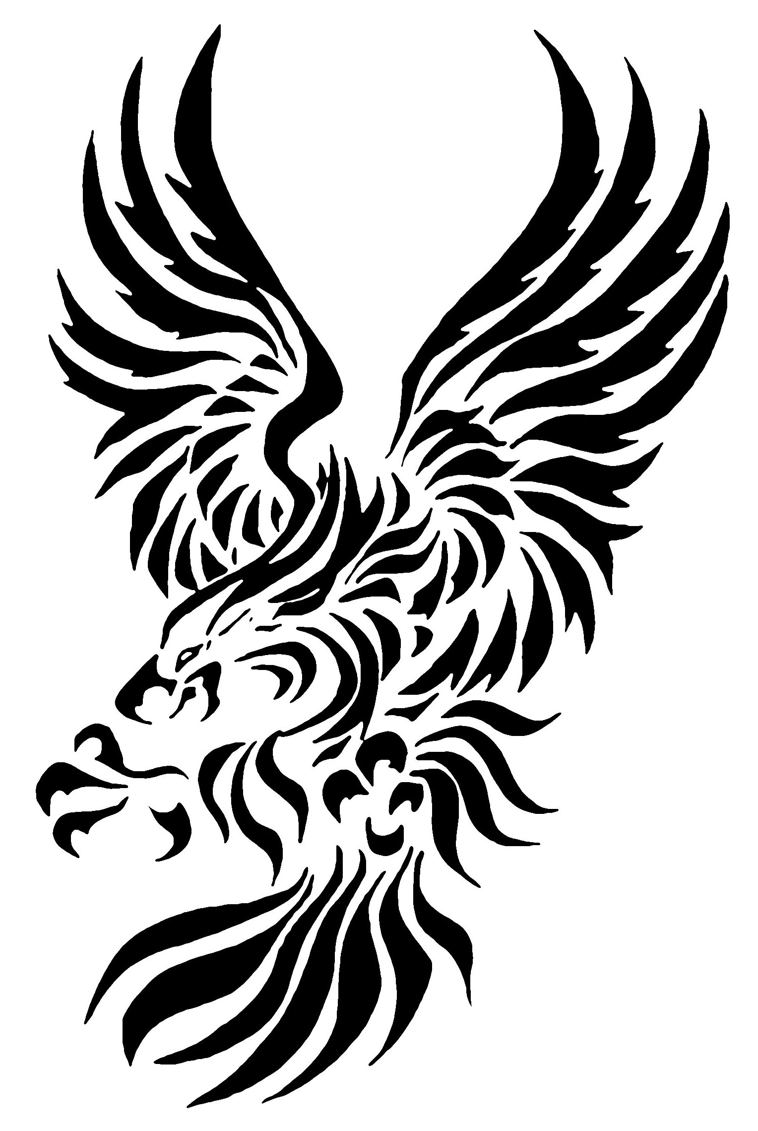 Tribal Eagle Tattoos - Designs and Ideas