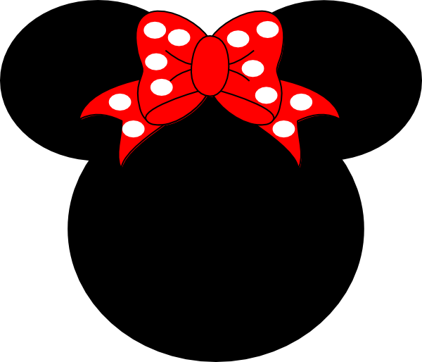 Mickey And Minnie Mouse Head Silhouette Minnie Mouse Silhouette